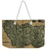 Vintage Map Of Ireland 1771 Weekender Tote Bag