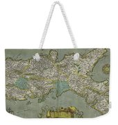 Vintage Map Of The Kingdom Of Naples - 1608 Weekender Tote Bag