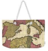 Vintage Map Of The Mediterranean - 1695 Weekender Tote Bag