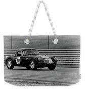 Vintage Mg On Track Weekender Tote Bag