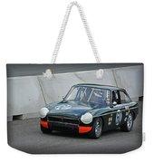 Vintage Mg Race Car Weekender Tote Bag