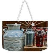 Vintage Milk Weekender Tote Bag