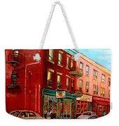 Vintage Montreal Weekender Tote Bag