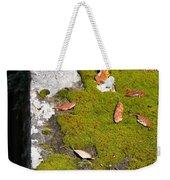 Vintage Moss Weekender Tote Bag