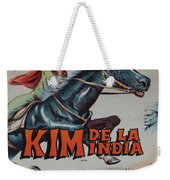 Vintage Movie Poster 4 Weekender Tote Bag