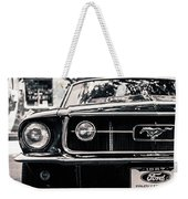 Vintage Mustang Weekender Tote Bag