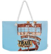 Vintage Neon Sign - The Spanish Trail - Tucson, Arizona Weekender Tote Bag