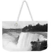 Vintage Niagara Falls - View From Goat Island - 1908 Weekender Tote Bag