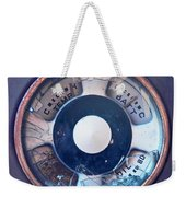 Vintage Oil Indicator Weekender Tote Bag