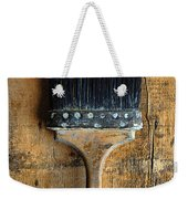 Vintage Paint Brush Weekender Tote Bag