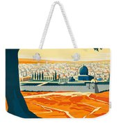 Vintage Palestine Travel Poster Weekender Tote Bag
