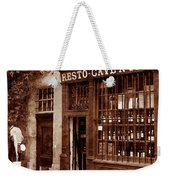 Vintage Paris 3 Weekender Tote Bag