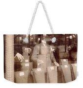 Vintage Paris Men's Fashion Weekender Tote Bag