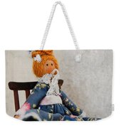 Vintage Peg Doll  Weekender Tote Bag