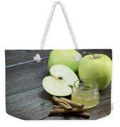 Vintage Photo Of Green Apples Weekender Tote Bag