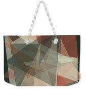 Vintage Polygon Pattern Weekender Tote Bag
