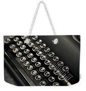 Vintage Portable Typewriter Weekender Tote Bag