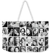 Vintage Portrait Photos Depict Womens Hairstyles Of The 1930s  - Doc Braham - All Rights Reserved. Weekender Tote Bag