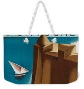 Vintage Portugal Travel Poster Weekender Tote Bag