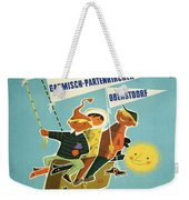 Vintage Poster - Bavarian Alps Weekender Tote Bag