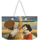 Vintage Poster - Toyo Kisen Kaisha Weekender Tote Bag