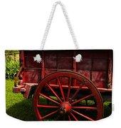 Vintage Red Wagon 2 Weekender Tote Bag