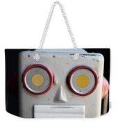Vintage Robot 1 Dt Weekender Tote Bag