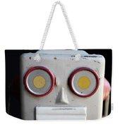 Vintage Robot Square Weekender Tote Bag