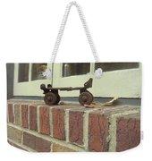 Vintage Roller Skate Weekender Tote Bag