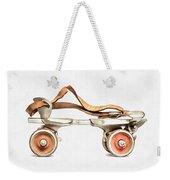 Vintage Roller Skate Painting Weekender Tote Bag