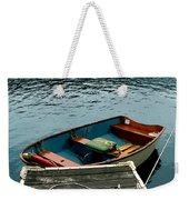 Vintage Rowboat Weekender Tote Bag