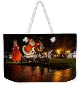 Vintage Santa Weekender Tote Bag