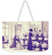 Vintage Seamstress Weekender Tote Bag