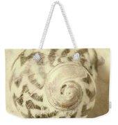 Vintage Seashell Still Life Weekender Tote Bag