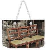Vintage Seating Weekender Tote Bag