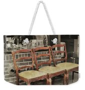 Vintage Seating Weekender Tote Bag