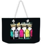 Vintage Seltzer Bottles 2 Weekender Tote Bag