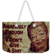 Vintage Sign 2e Weekender Tote Bag