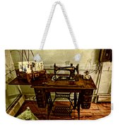 Vintage Singer Sewing Machine Weekender Tote Bag