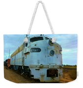 Vintage Steam Engine Weekender Tote Bag