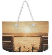Vintage Sunrise Weekender Tote Bag