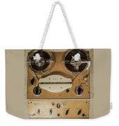 Vintage Tape Sound Recorder Reel To Reel Weekender Tote Bag