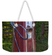 Vintage Tokheim Gas Pump Weekender Tote Bag