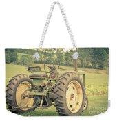 Vintage Tractor Keene New Hampshire Weekender Tote Bag