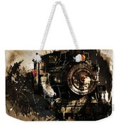 Vintage Train 06 Weekender Tote Bag