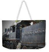 Vintage Train Weekender Tote Bag