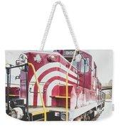 Vintage Train Locomotive Weekender Tote Bag