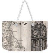 Vintage Travel Poster London Weekender Tote Bag