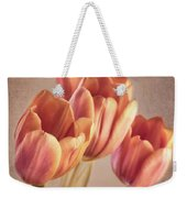 Vintage Tulips Weekender Tote Bag by Wim Lanclus