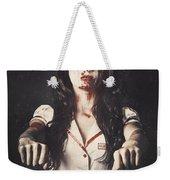 Vintage Walking Dead Horror Nurse Weekender Tote Bag